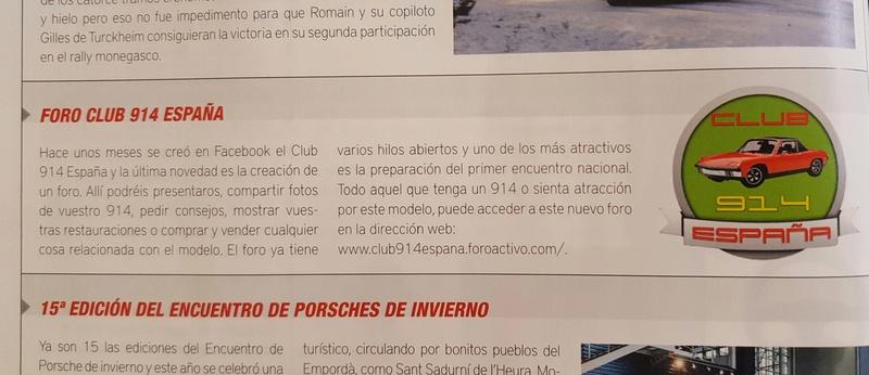 Reseña del club 914  en la revista 9onceplus del mes de Marzo 20170310
