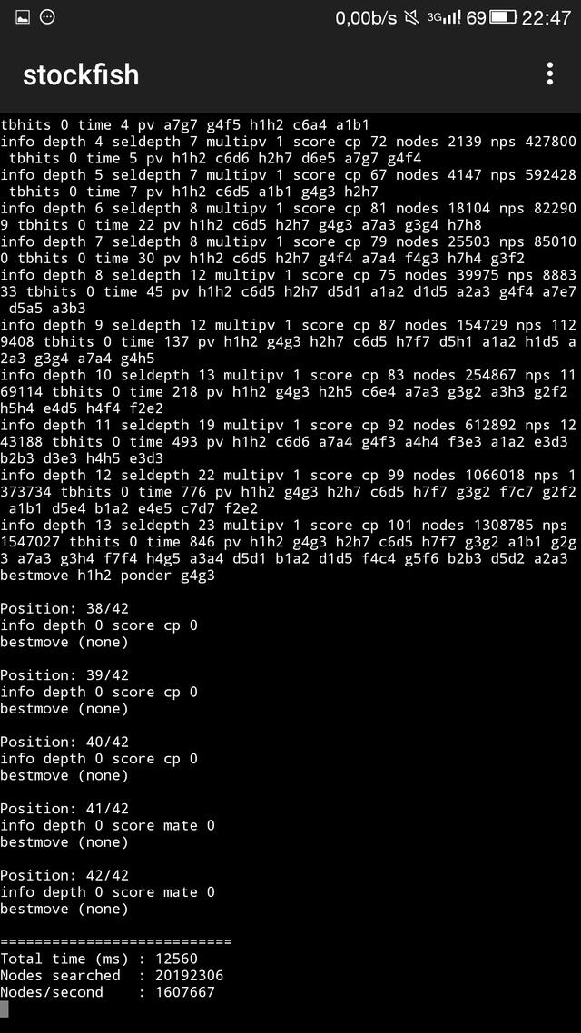 El motor McBrain , muy comentado estos días en los foros de ajedrez. Screen20