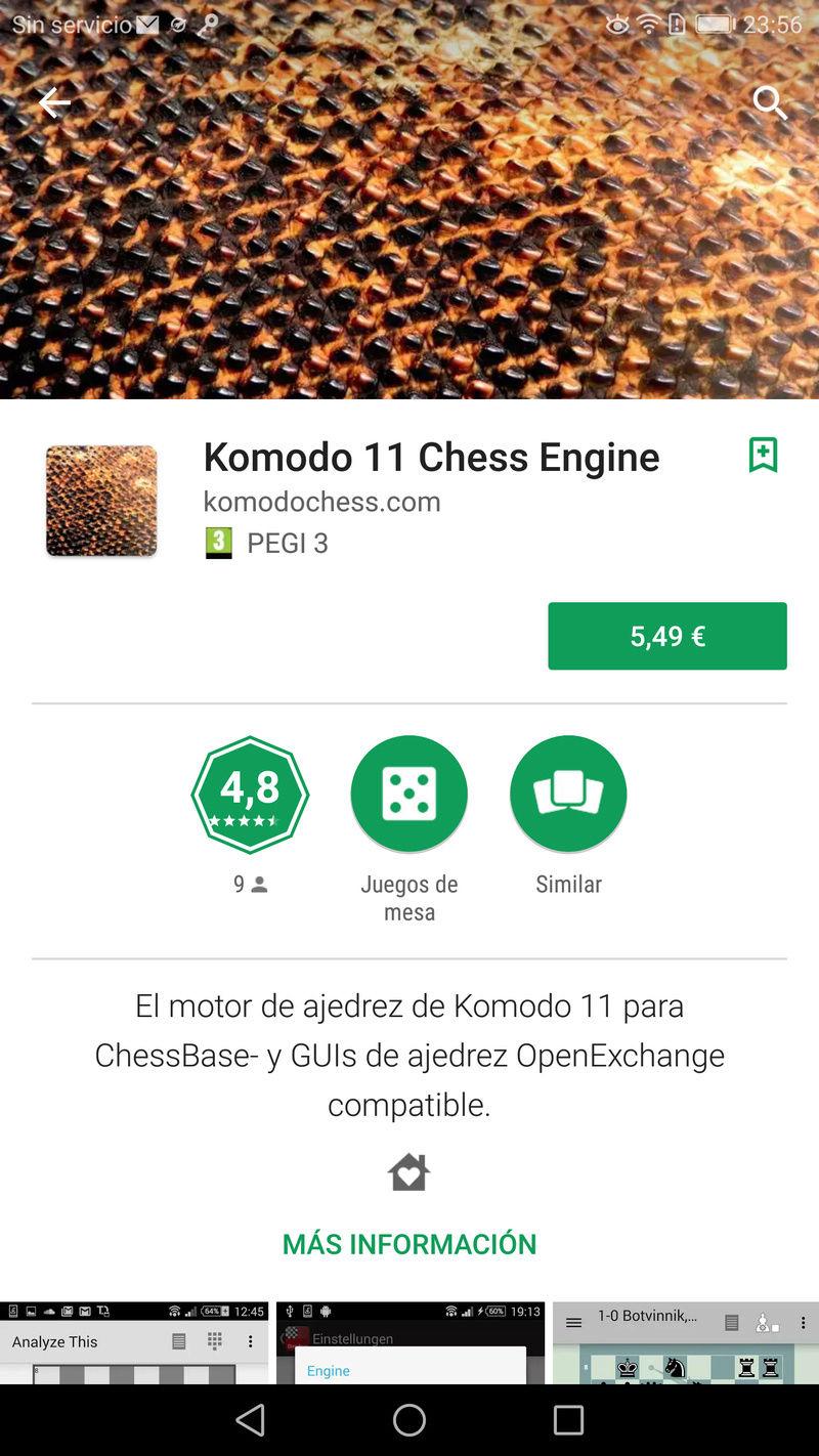 Komodo 11.01 para Android, ya a la venta !!! Screen21
