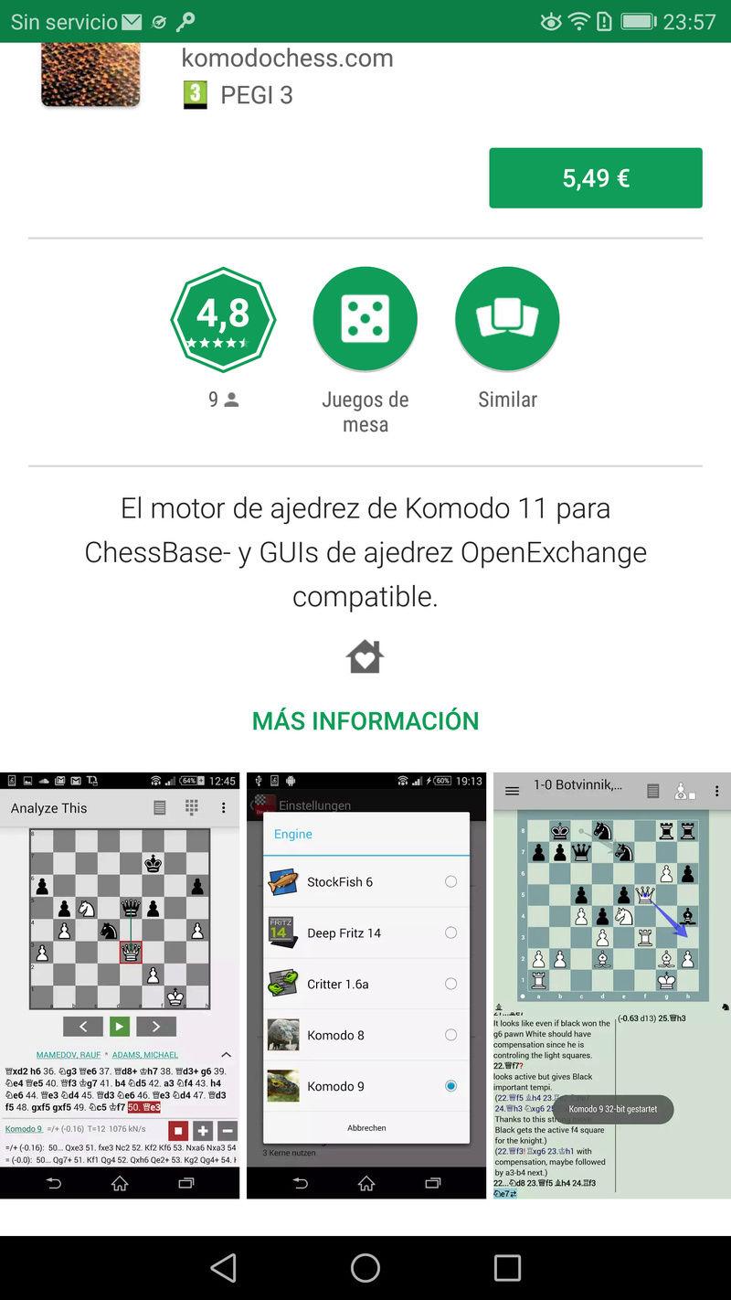 Komodo 11.01 para Android, ya a la venta !!! Screen23