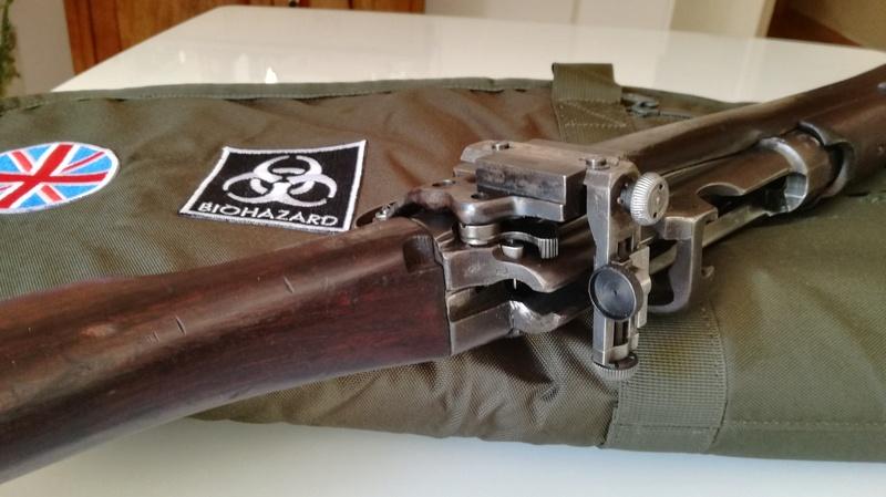 SMLE No1 rifle avec dioptre Parker Hale - Page 2 Img_2031