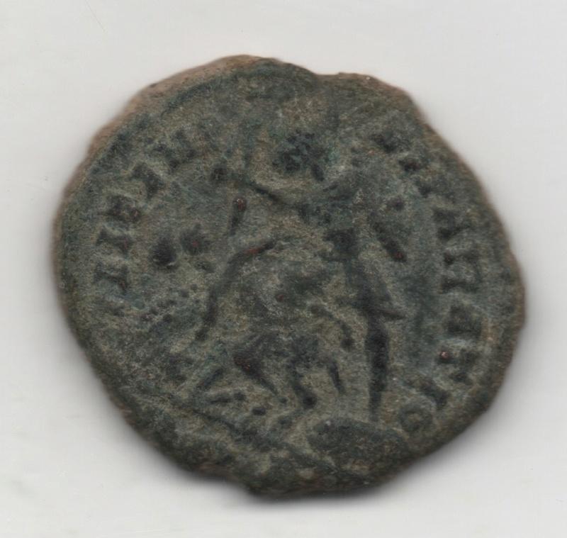 AE3 de Constancio II.  FEL TEMP REPARATIO   132