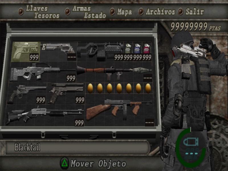 Resident evil 4 [PS2] savedata con todo desbloqueado Sin_ty17