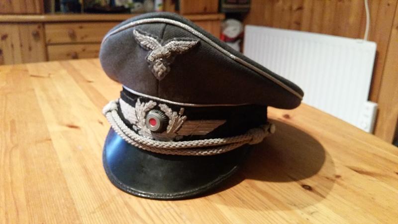 casquette officier Luft/ estimation et authenticité 20170214