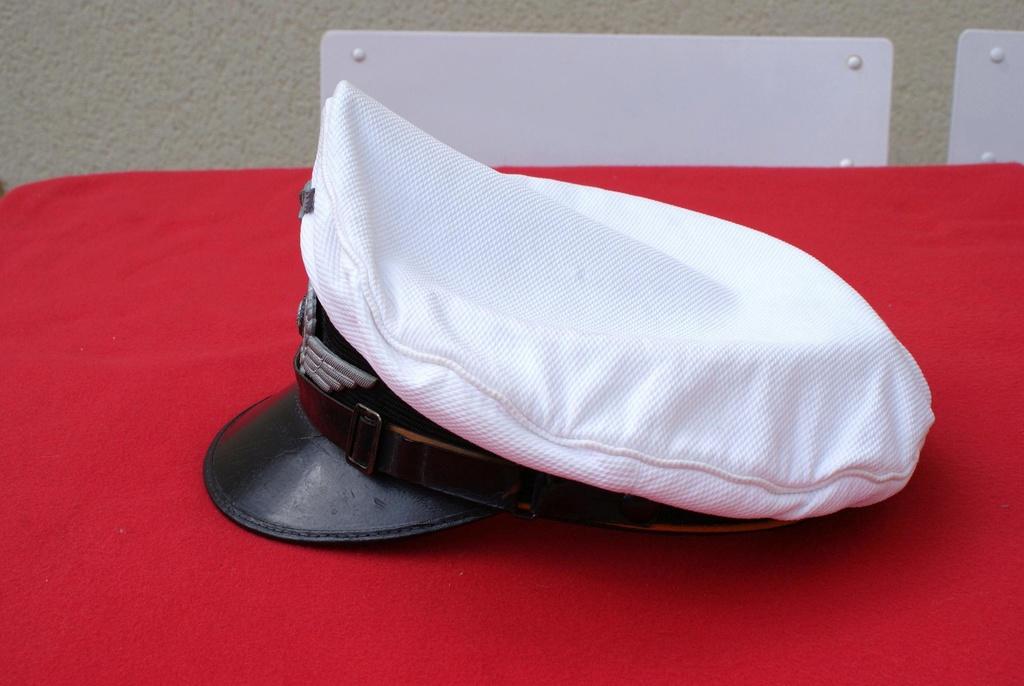 Casquette blanche Luft service d'été / avis Dsc06523