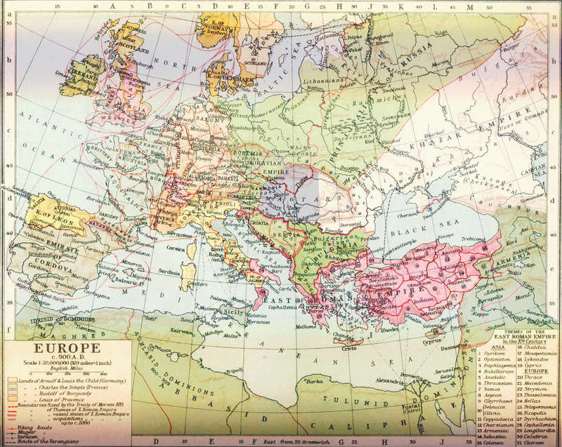 MAPY STARÉHO SLOVENSKA Europe11