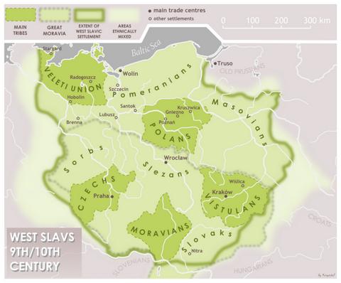 MAPY STARÉHO SLOVENSKA Slavs-10