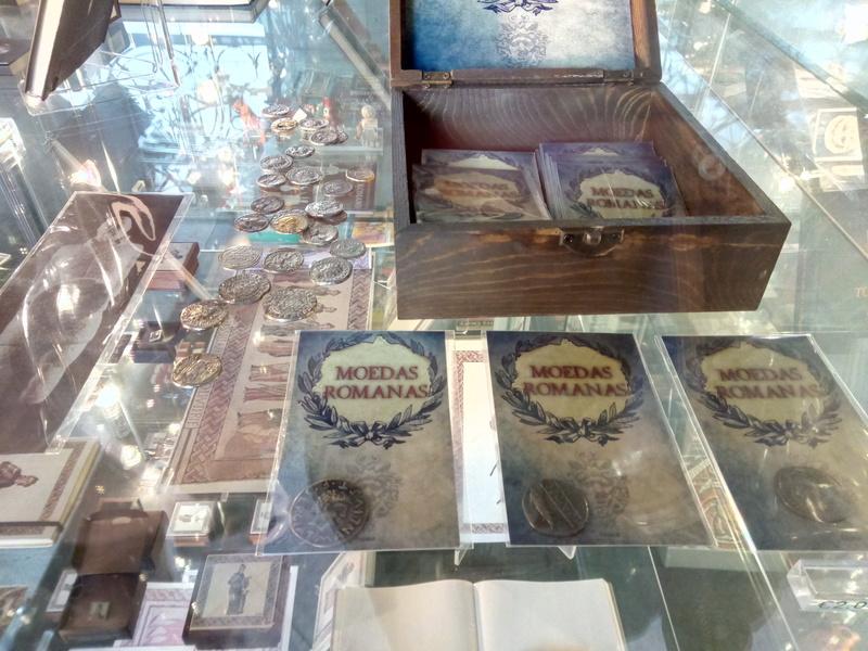 ¡Monedas romanas! en Lisboa 2017-012