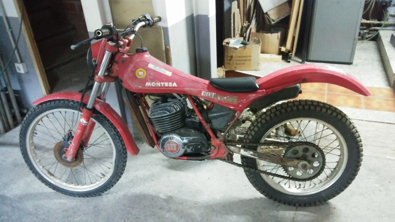 Se vende montesa cota 304 trial. 20170210