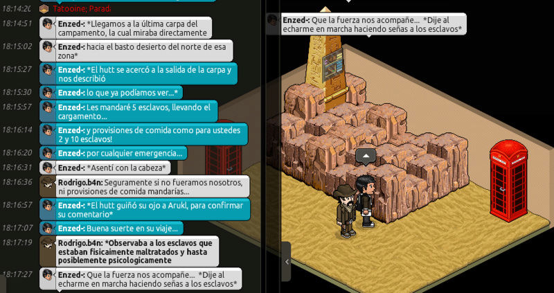 [Misiones en Tatooine]   Escolta con Arukl: Circuito comercial desértico Screen93