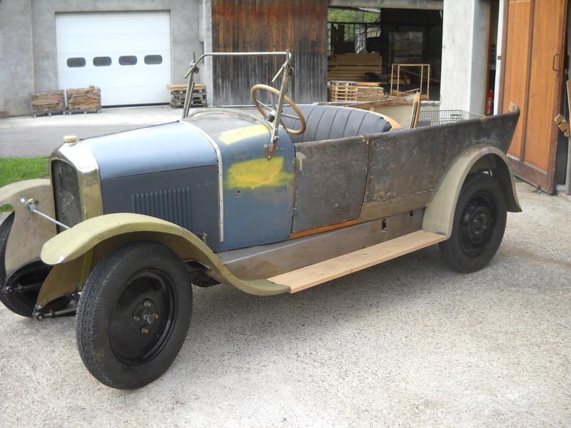Mes  Peugeot d'avant guerre 07410