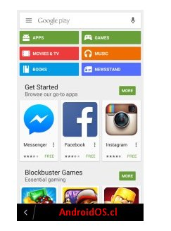aporte Sistema blackberry 10 con los servicios de Google Play y YoutuBe Google10