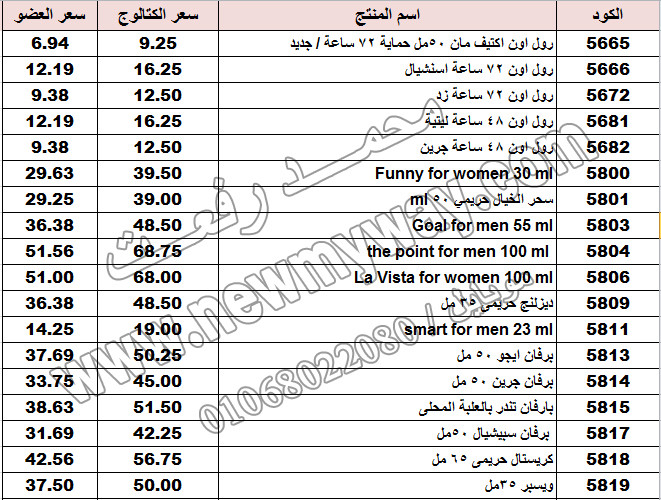 قائمة أسعار منتجات ماي واي في كتالوج مايو 2017 << بسعر الكتالوج ... بسعر العضويه >> 20_o12