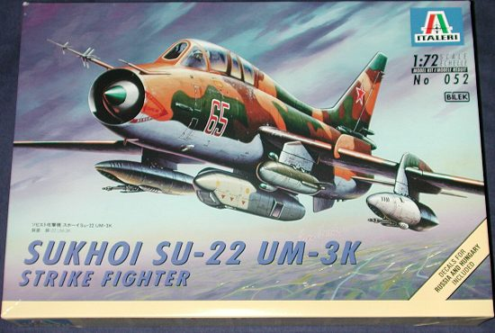 Su-22 UM-3K, Italeri 1/72 Su22ub10