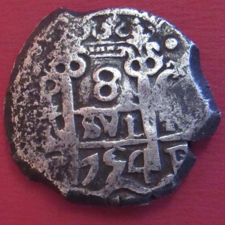 8 reales Macuquinos Fernando VI ceca de Potosi-1754- Img_2610