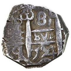 8 reales Macuquinos Fernando VI ceca de Potosi-1754- Img_2612
