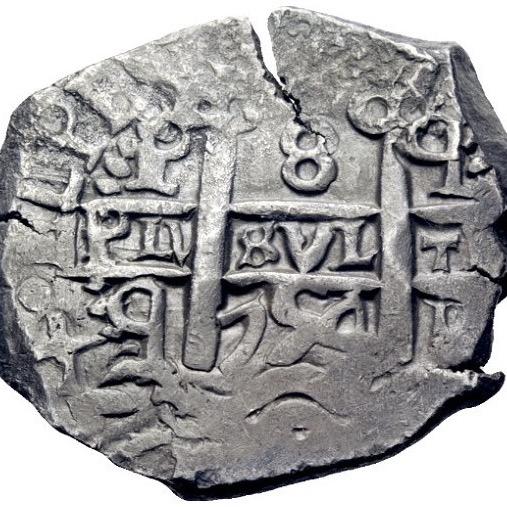 8 reales Macuquinos Fernando VI ceca de Potosi-1754- Img_2616