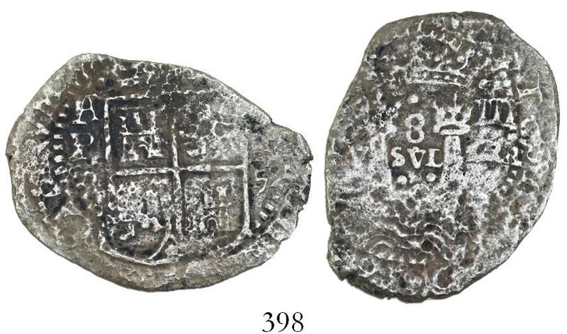 Macuquina transicional 8 Reales 1652-E tipo IV, Del Naufragio de La Capitana Img_2618