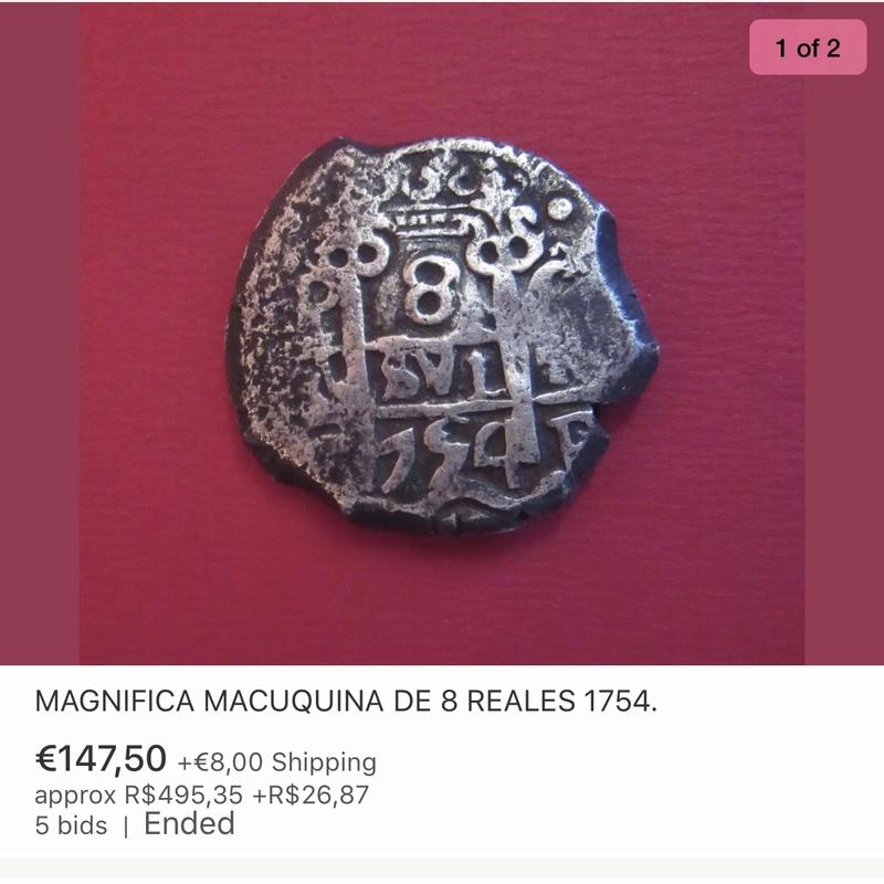 8 reales Macuquinos Fernando VI ceca de Potosi-1754- Img_2812