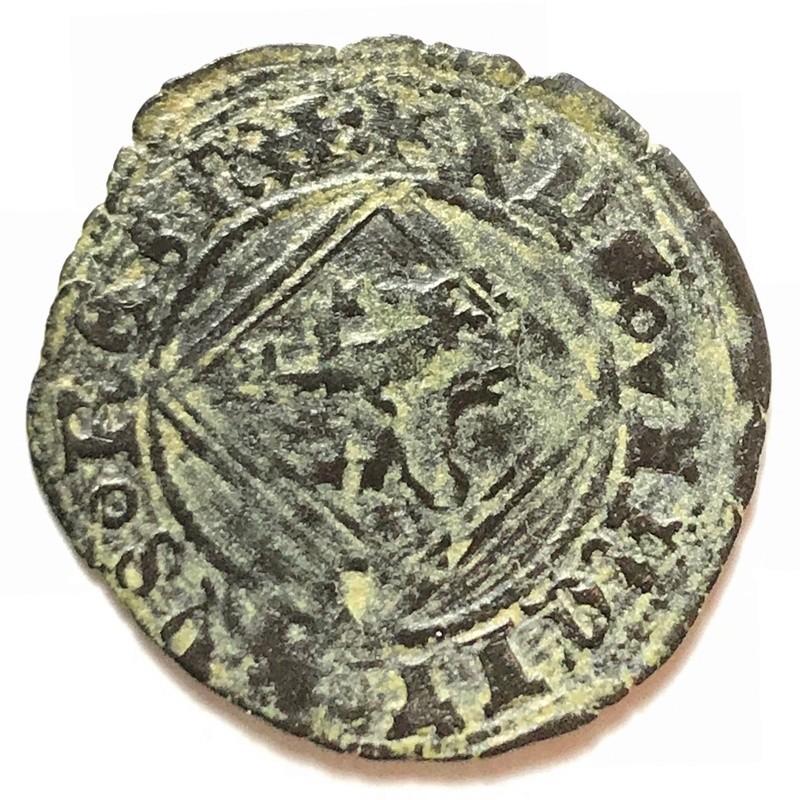 Blanca del ordenamiento de Segovia de 1471 Enrique IV de Castilla Burgos. Img_4122