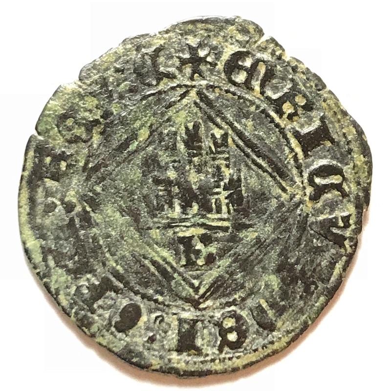 Blanca del ordenamiento de Segovia de 1471 Enrique IV de Castilla Burgos. Img_4123