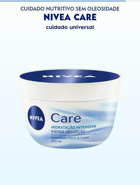 Amostras Nivea-Creme Nivea Care 16998010