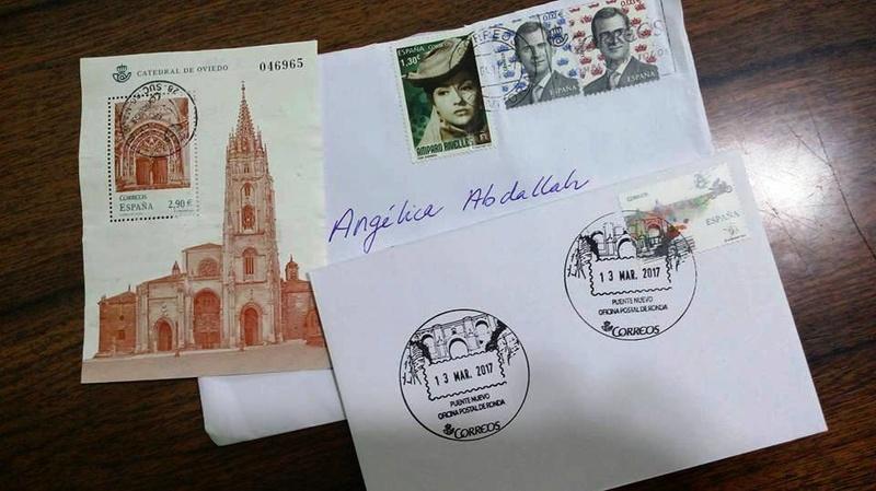 Intercambio Postalero - POSTCROSSING primaveral El Desván - Página 3 18010711
