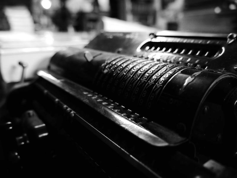 une machine à écrire? absolument pas!  P1020810