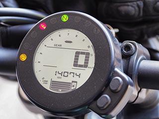 Avon Trailrider para mi Yamaha XSR700. Odomet10