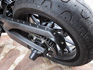 Corrección protector de cadena Yamaha XSR700 Protec12