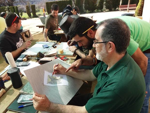 Curso de Cuero. Mandril Artesanía en Cuero 20170362