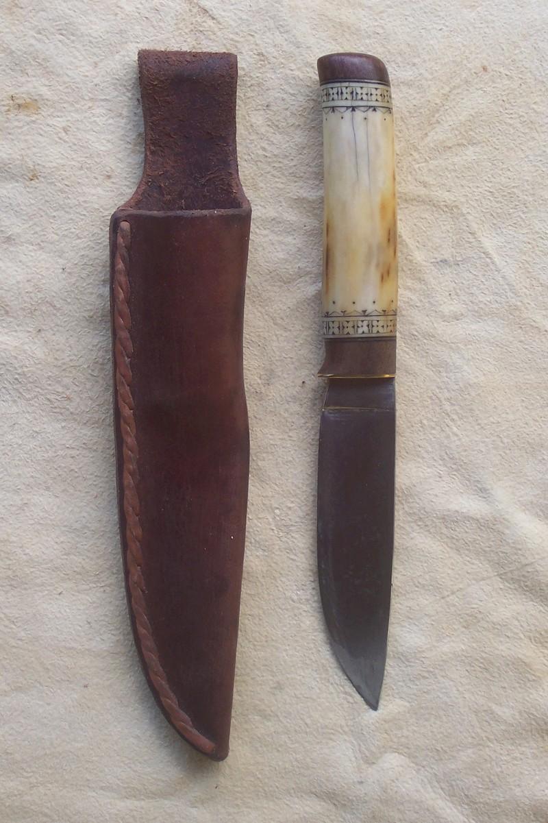 Curso de elaboración de cuchillos Nórdicos. Alfonso García-Oliva. (Iurde)  Berner10