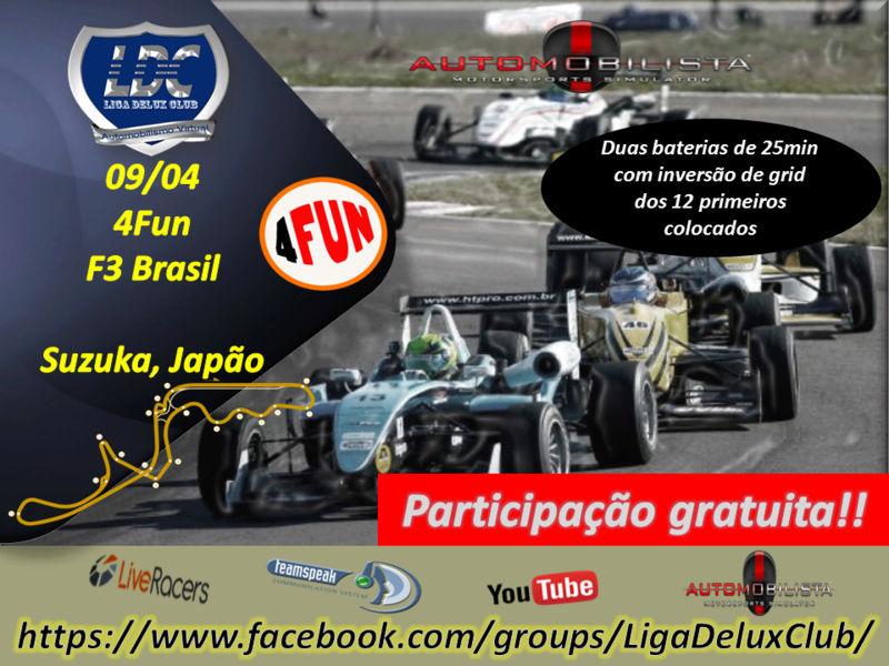 Liga Delux Club- 4Fun F3 Brasil - Kansai (Suzuka) - 09/04 Receiv10