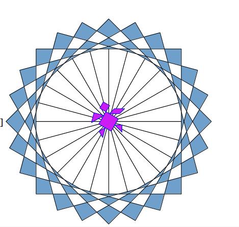Il quadrato diventa...in Logo Scherm11