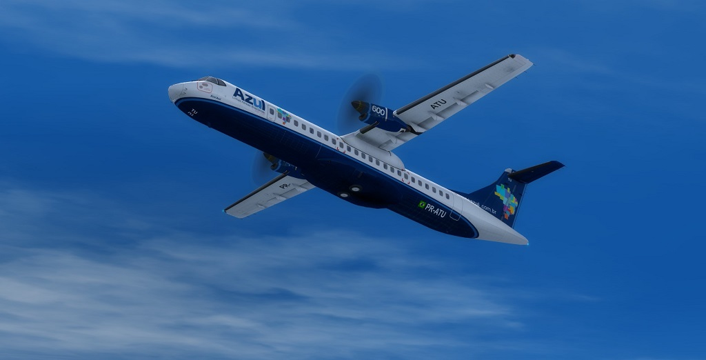 SBRJ - SBKP AT72 Azul 410