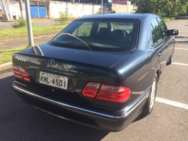 (VENDIDO): W210 E430 B4 2001 - blindada de fábrica - R$35.600,00 E430b414