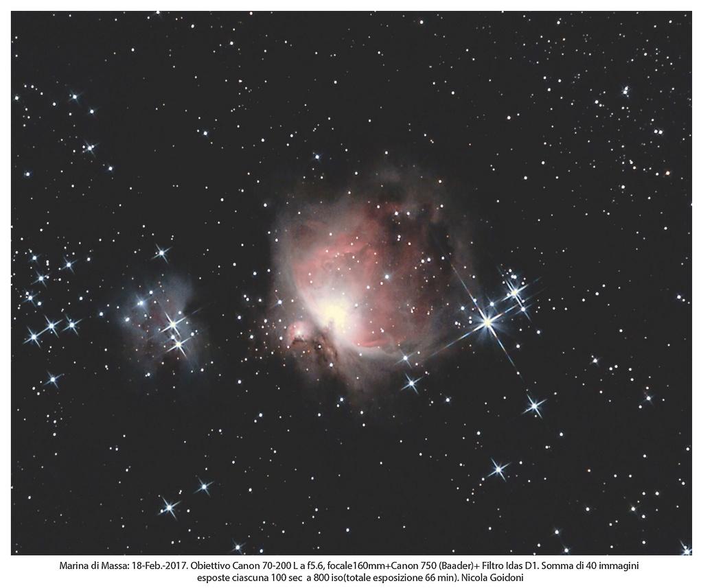 Nebulosa di Orione M42 Paintn13