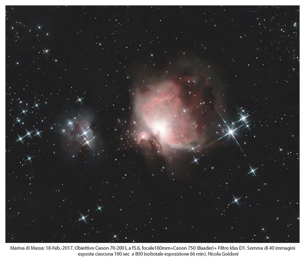 Nebulosa di Orione M42 Paintn14