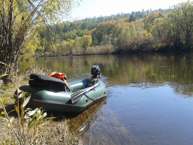 Сплав по реке Китой 20160911