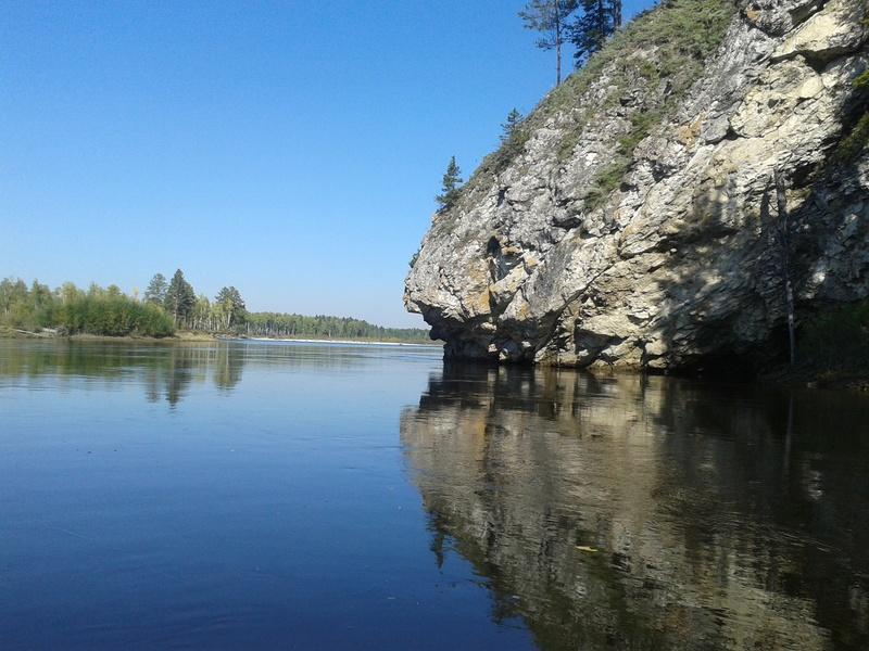 Сплав по реке Китой 20160915