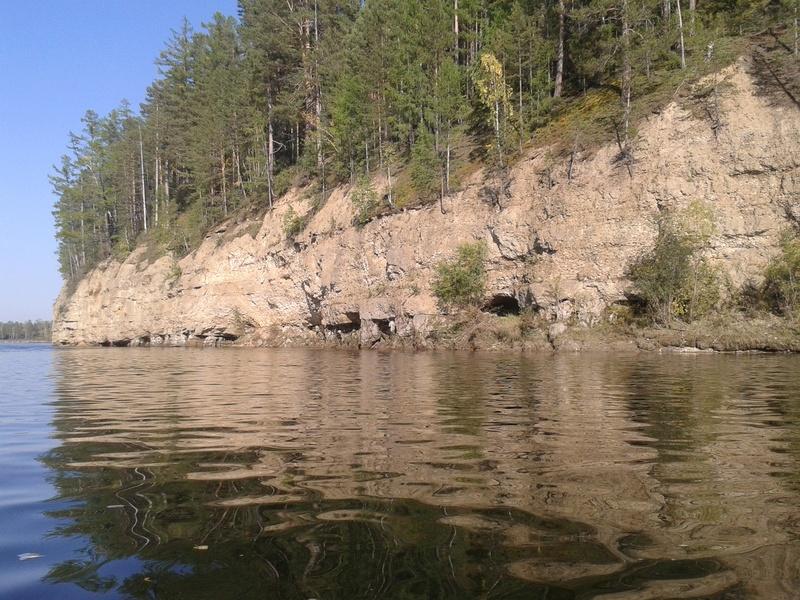 Сплав по реке Китой 20160916