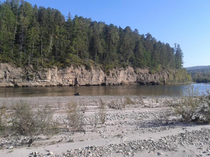 Сплав по реке Китой 20160918