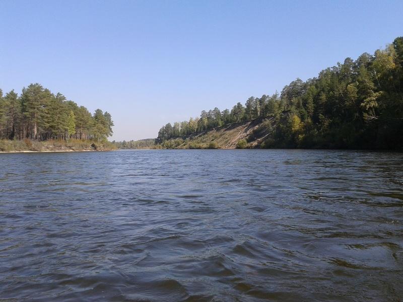 Сплав по реке Китой 20160919