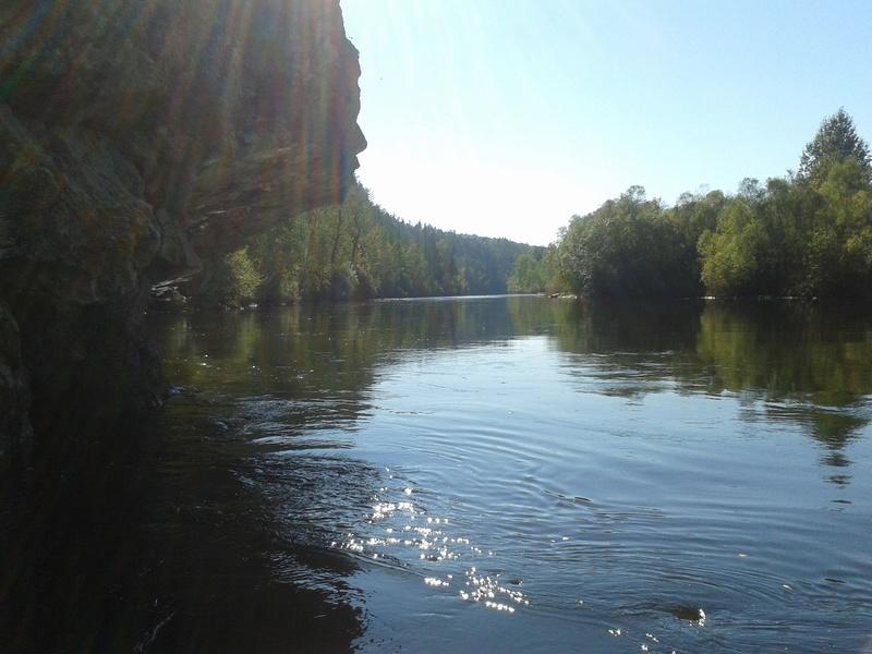 Сплав по реке Китой 20160921