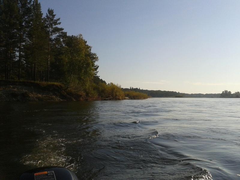 Сплав по реке Китой 20160926