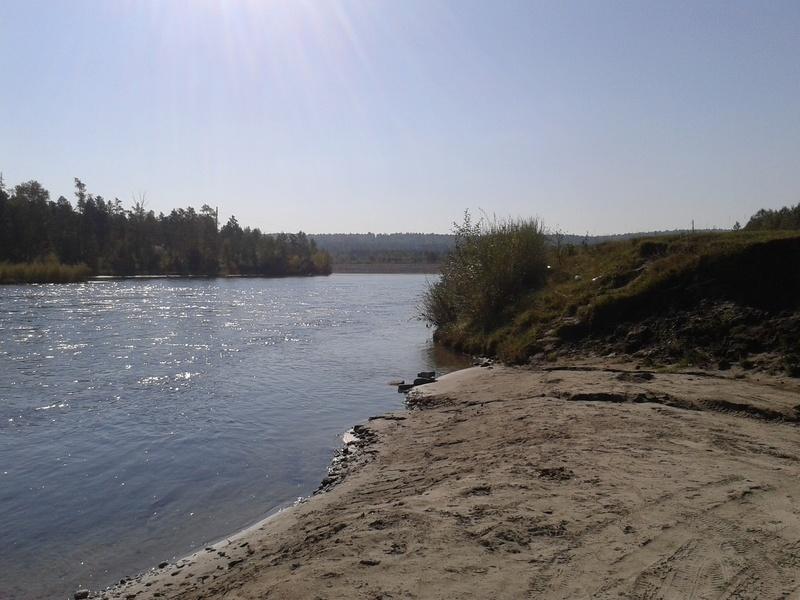 Сплав по реке Китой 20160927
