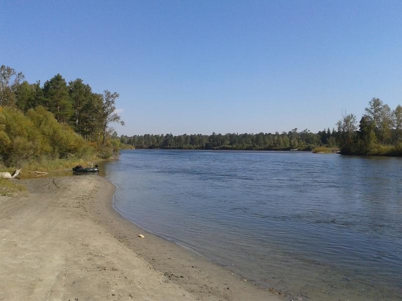 Сплав по реке Китой 20160928