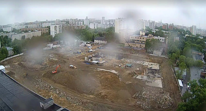 "Веб-камеры на площадке строительства ЖК ""Нормандия"" E8lli710"