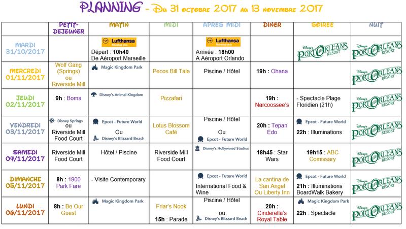 [Pré-TR] 1ère Visite WDW/Universal 31 Octobre au 14 Nov 2017 - Page 4 Planin11