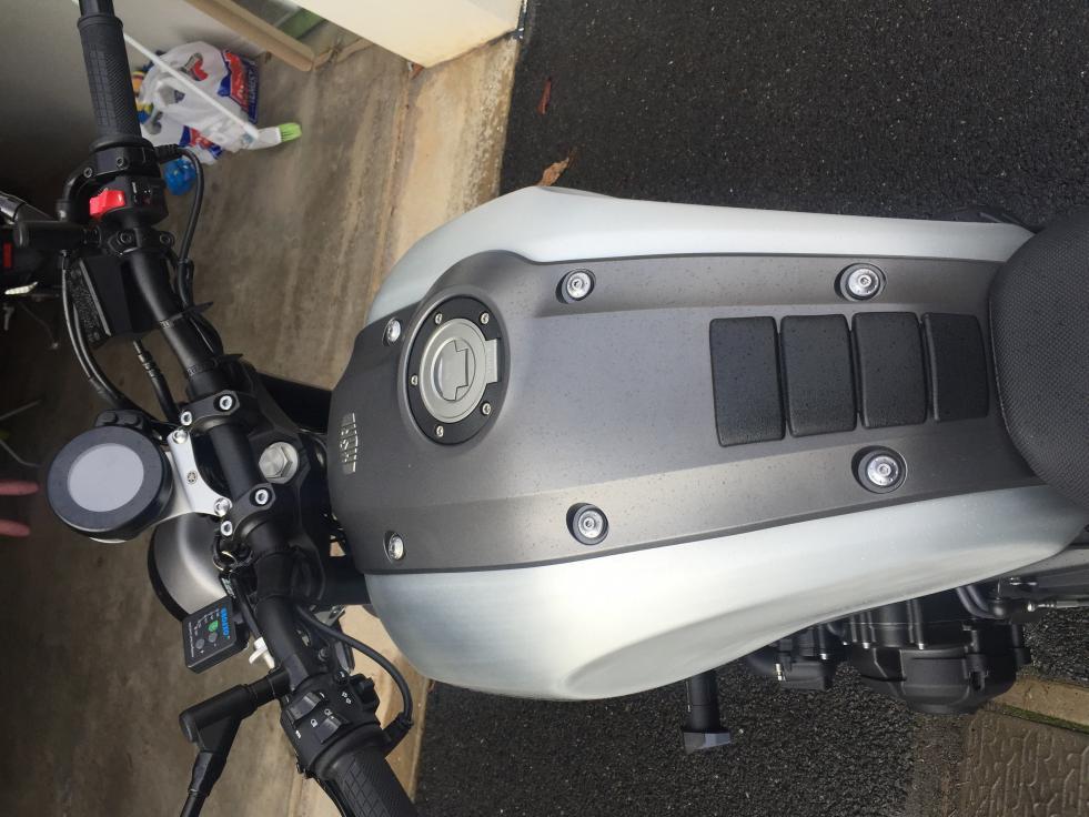 Tankpad / protection de réservoir sur XSR 30632d10